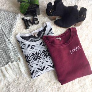 Fall 🍁 Winter ❄️ Sweater Crewneck Bundle